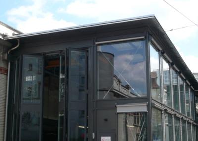 Gleis 0 Fassade 2