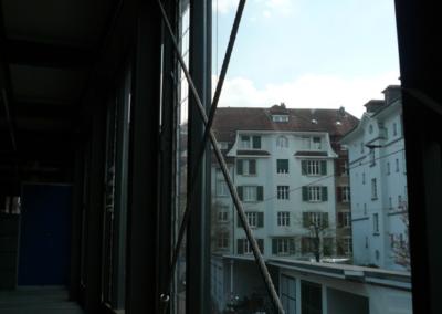 Gleis 0 Fensterfront