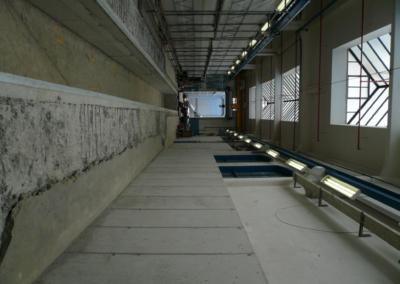 HW-Tram im Umbau