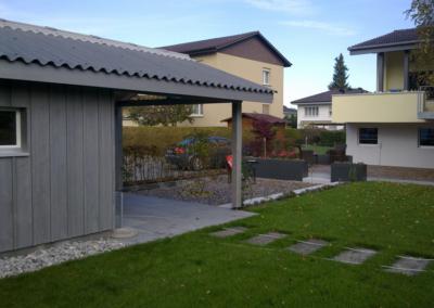 Herren Gartenhaus und Haus