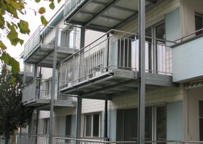 Waldrainstrasse Balkon